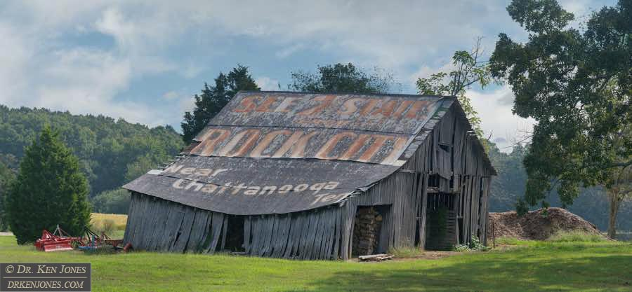 See 7 States from Rock City near Chattanooga, Tenn., Lawrenceburg, Tennessee